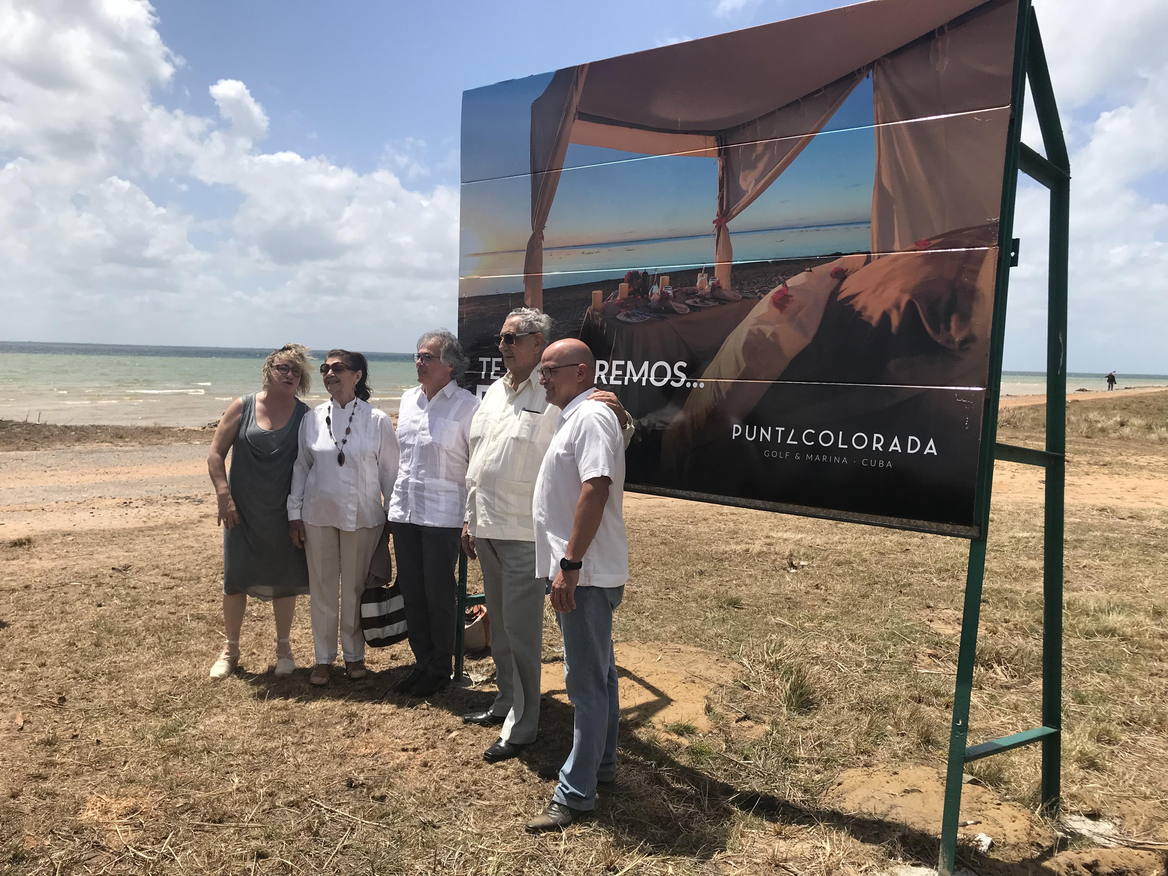 Construyen en Cuba campo de golf que tendrá un hoyo en el mar *