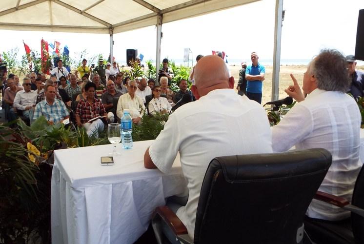 Develan cuarta valla promocional del Proyecto Punta Colorada Golf & Marina Cuba *