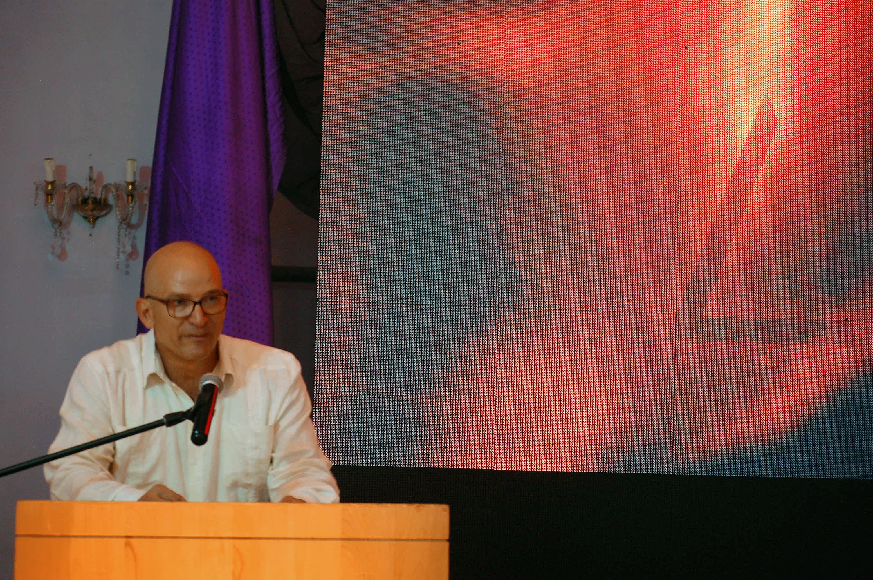 Intervención del Vicepresidente de Punta Colorada SA y Director de Cubagolf, D. Raudel García, en la presentación del proyecto La Habana 18 de julio de 2018.